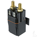 Solenoid, 48V Terminal Copper, Club Car Precedent with Slide in Mounting Bracket
