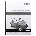 Service Manual, E-Z-Go RXV Electric